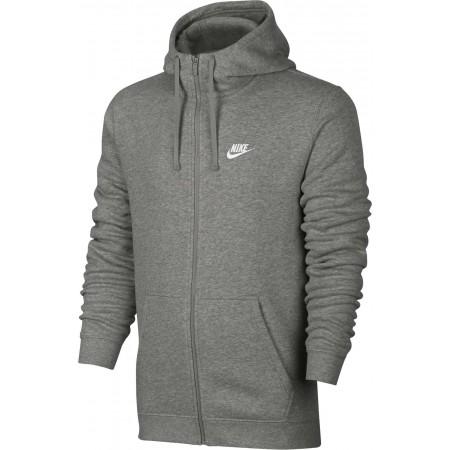 Férfi pulóver - Nike HOODIE FZ FLC CLUB - 1 913df42317