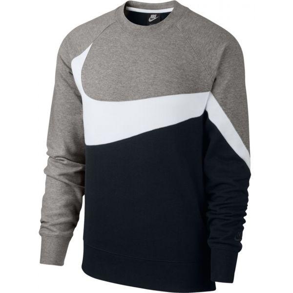 Nike NSW HBR CRW FT STMT - Férfi pulóver